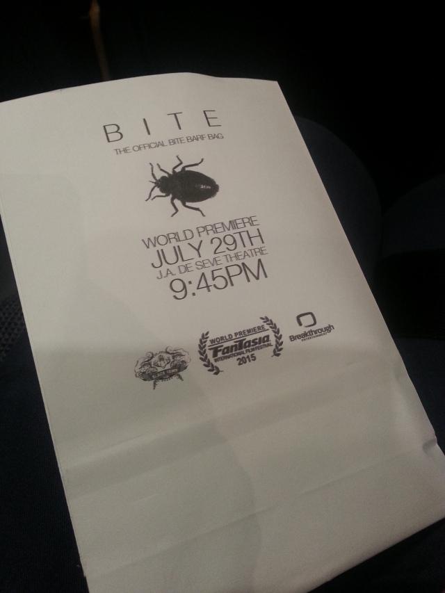 Official Bite Barf Bag