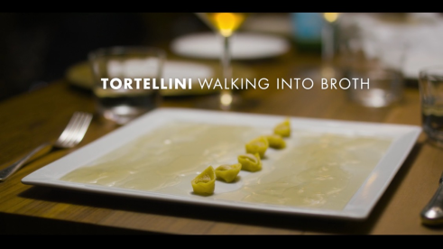 Image result for chefs table tortellini