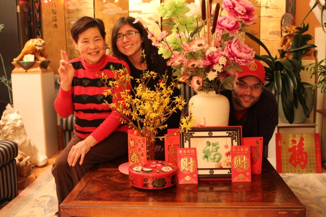 Happy Chinese New Year from my family! :)