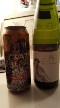 Crazy Beard: Ginger Beer White Wine