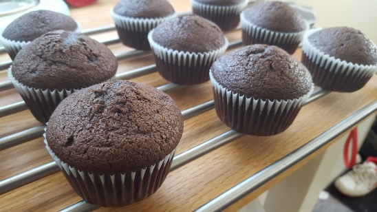 Butter's Chocolate Cupcakes