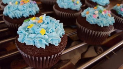 Pinocchio Cupcakes