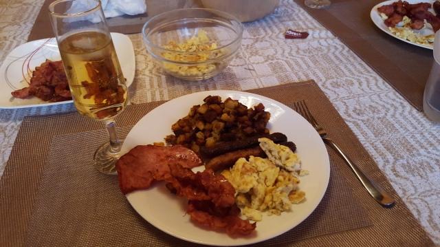 Breakfast Style Dinner