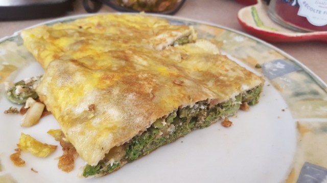 Fiddlehead Omelette