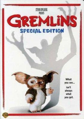 Gremlins DVD poster