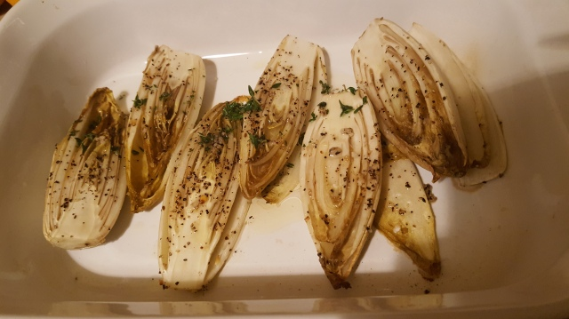 Roasted Endives with Thyme