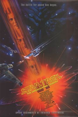 Star Trek: The Undiscovered Country movie poster