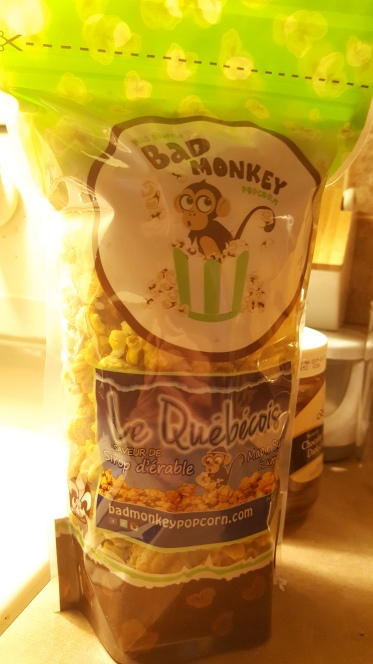Bad Monkey Maple Flavored Popcorn