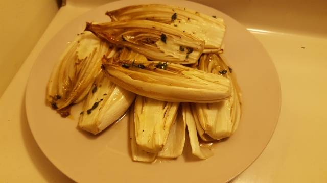 Roasted Honey-Thyme Endives