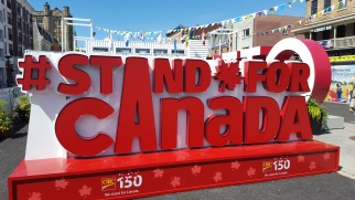 Canada 150 celebration at Byward Market