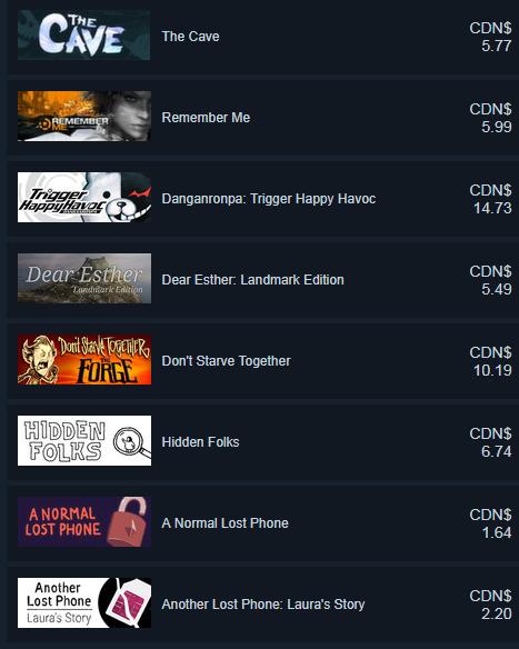 Steam Fall Sale