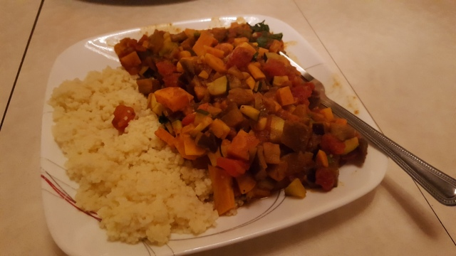 Spiced Vegetable Tagine