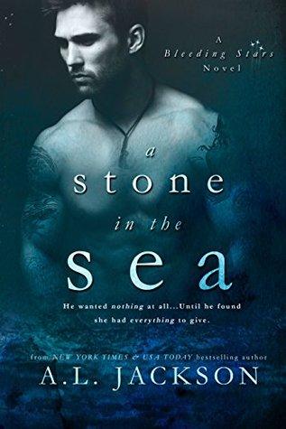 a stone in the sea