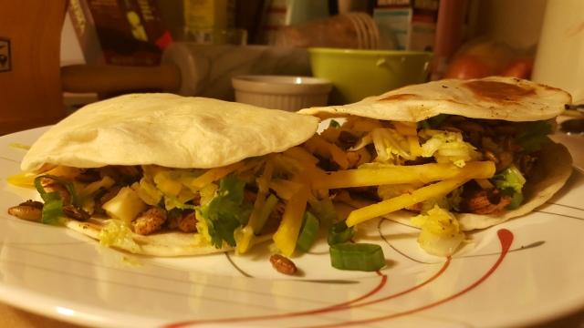 ancho chicken tacos
