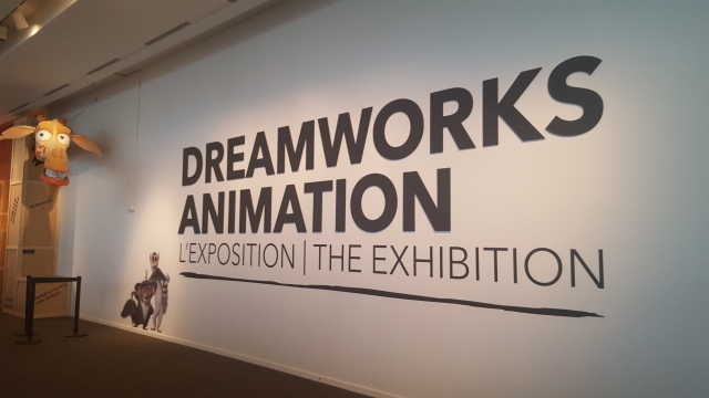 dreamworks animation exhibition