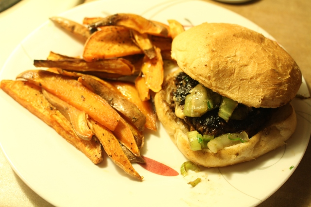Beef & Shitake Burgers
