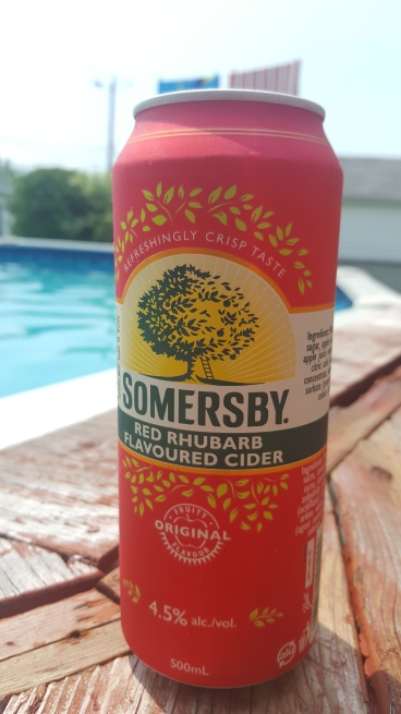 Somersby Red Rhubarb Cider