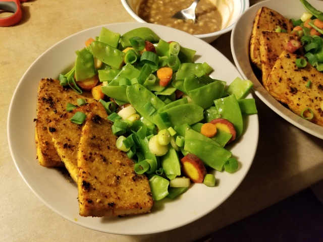 grilled tofu dragon bowl