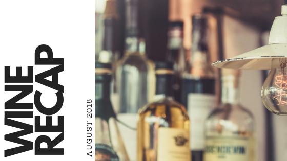 Wine Recap August