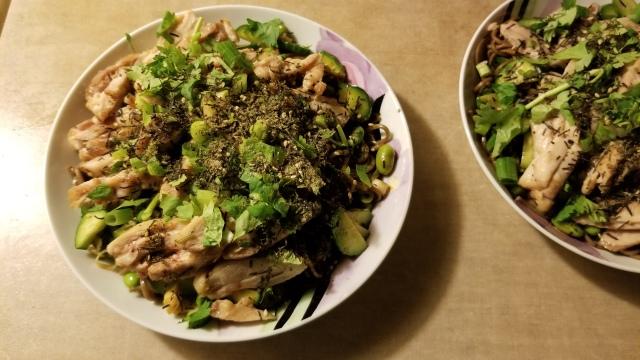 sichuan chicken salad