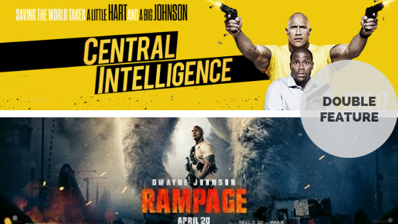 Double Feature Central Intelligence 2016 Rampage 2018 Tranquil Dreams