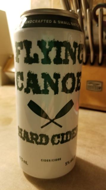 Flying Canoe Hard Cider