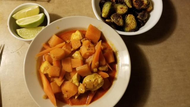 Coconut Chicken Stew