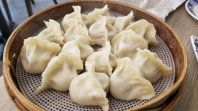 Pork-Cabbage Steamed Dumplings