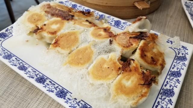 Beef-Coriander Dumplings