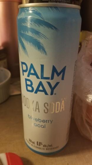 Palm Bay Vodka Soda