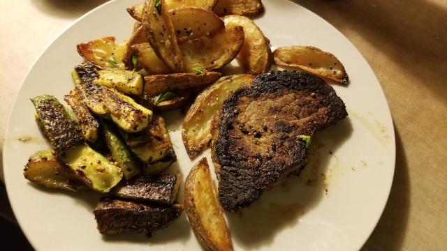 seared steaks goodfood