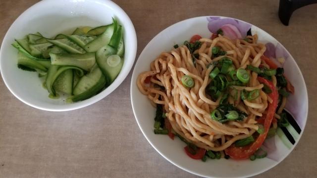 fresh shanghai noodles
