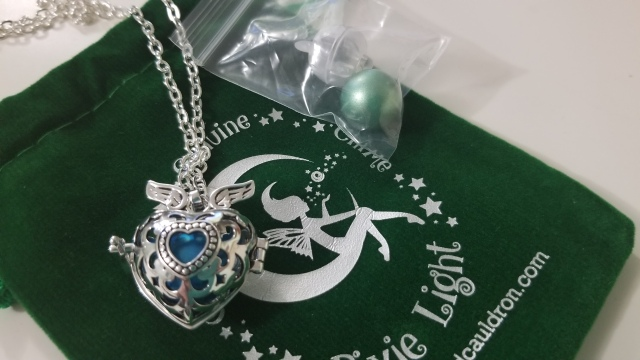 fairy Bell Necklace The Emerald Cauldron