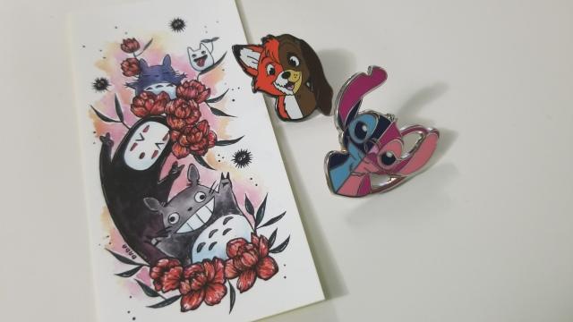 Pins at Art by DaDa