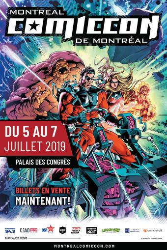 Montreal Comiccon 2019