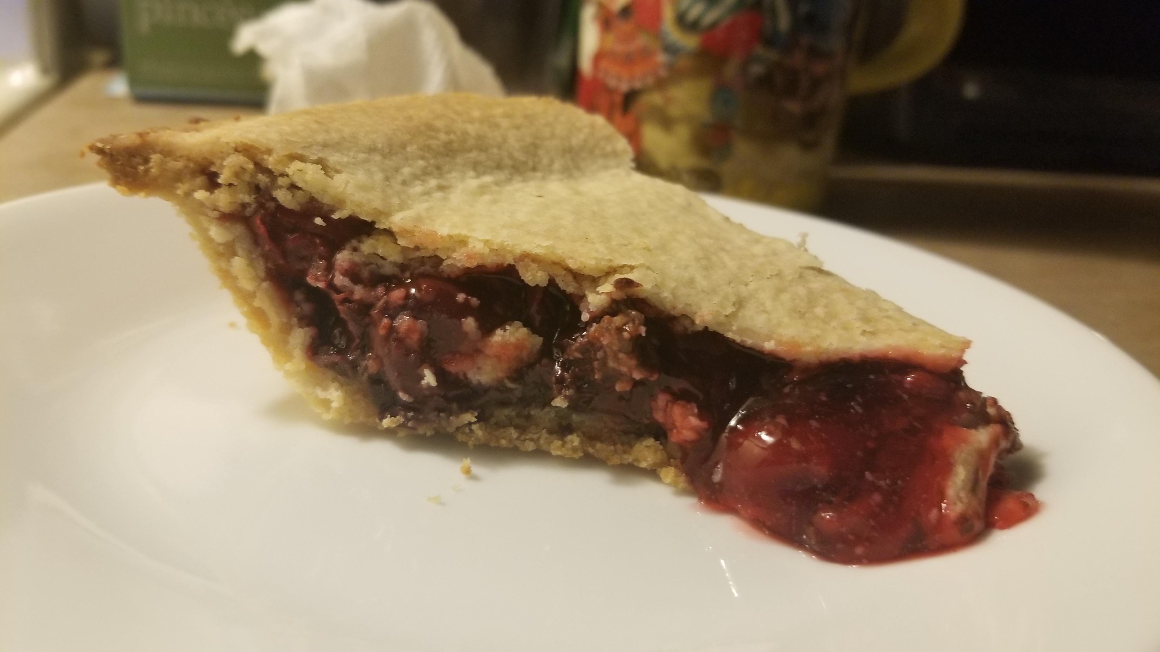 Cherry-Chocolate Pie