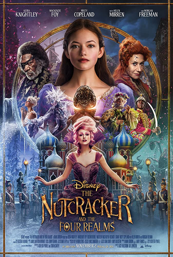 The Nutcracker and the Four Realms movie poster