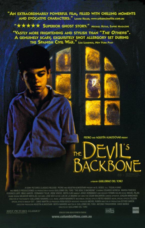 The Devil's Backbone movie poster
